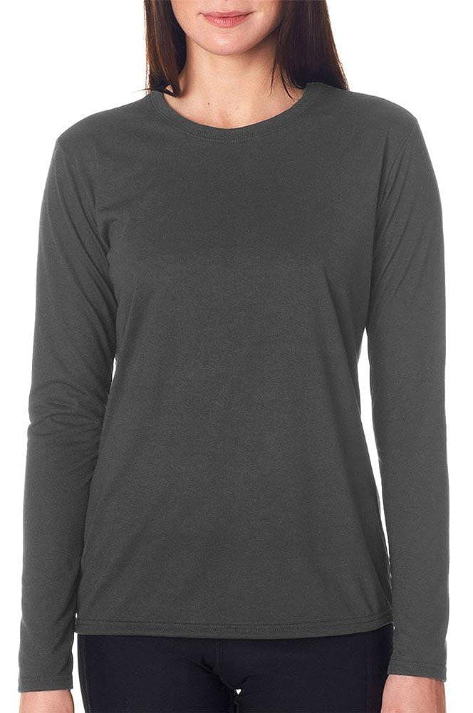 83222ca8a2e5 Gildan Performance Ladies  Long-Sleeve T-Shirt at Amazon Women s Clothing  store