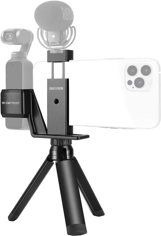 Festnight Compatible avec OSMO Pocket 2 Kit de Montage de Guidon de v/élo Pocket pour Clip de Fixation de v/élo Pocket 2