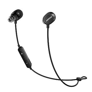 Mpow Dunmer - Auriculares inalámbricos con Bluetooth para Correr con micrófono para iPhone, Samsung,