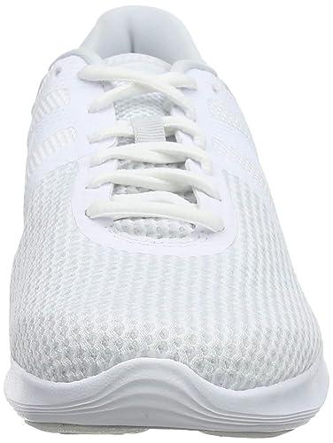 Designer Nike Revolution 4 Laufschuhe Damen Weiß | Auf