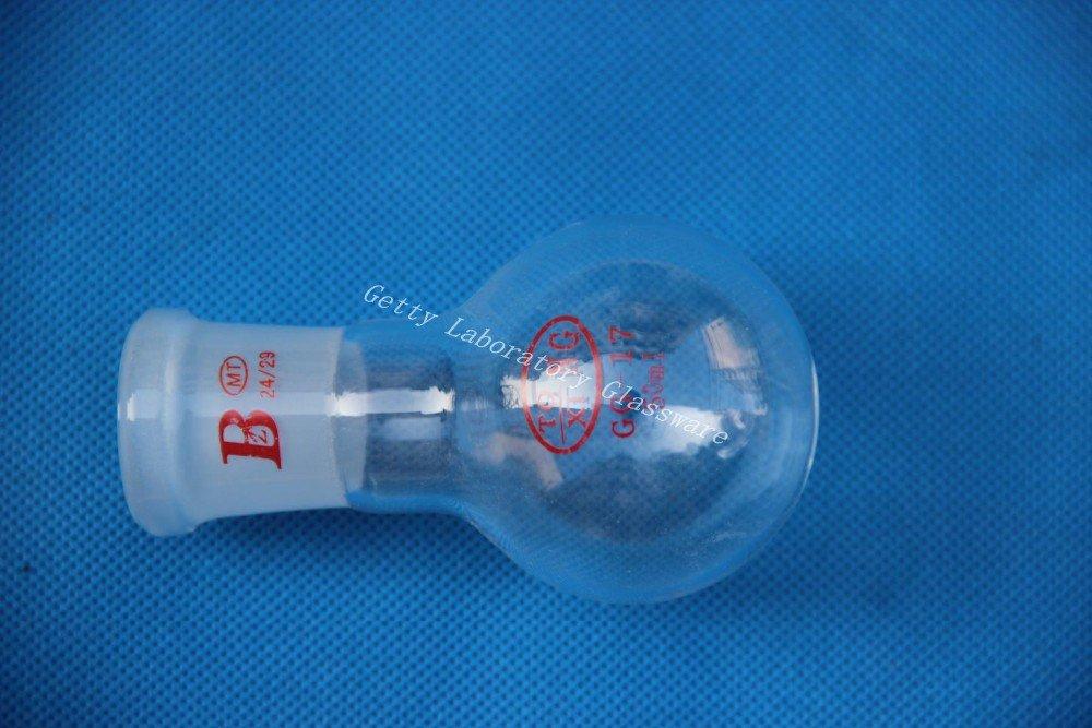 base in acciaio INOX da parete 50 ml con 24//29-Giunto Collo rotondo