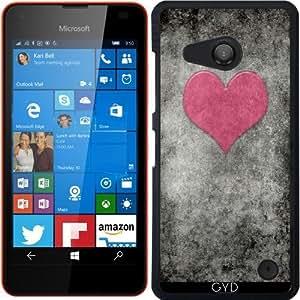 Funda para Microsoft Lumia 550 - Valentines Vendimia De Terciopelo De Color Rosa by BruceStanfieldArtist