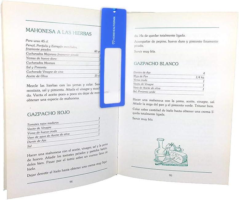 3 x Lupa de Bolsillo Fresnel para Lectura - Lupa para Coser - Lente de Bolsillo - Tamaño Marcapáginas: Amazon.es ...