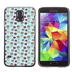 ZECASE Funda Carcasa Tapa Case Cover Para Samsung Galaxy S5 I9600 No.0000240