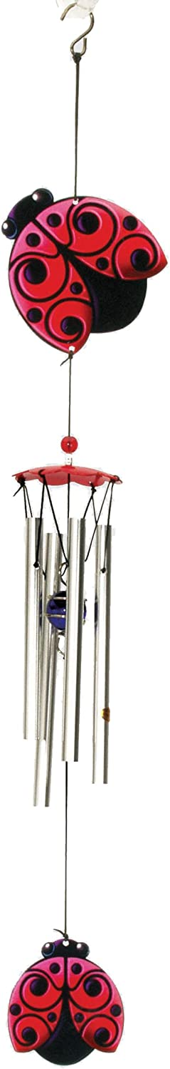 Spoontiques Ladybug Wind Chime