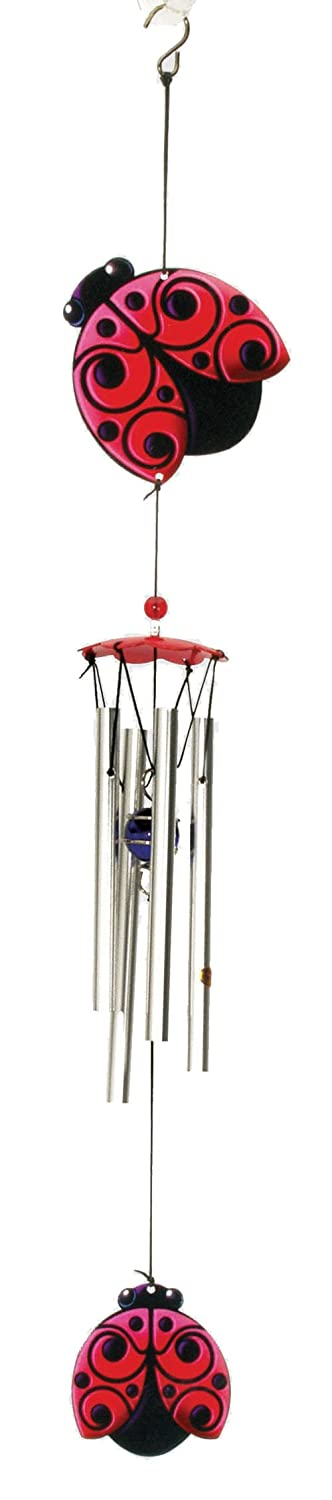 Spoontiques Ladybug Wind Chime 13587