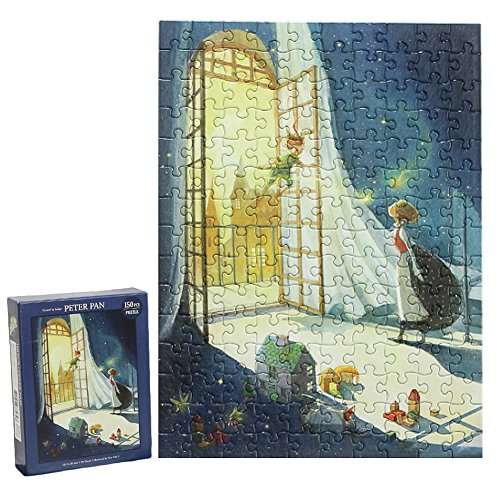 Peter Pan Fairy Tale Illustration Jigsaw Puzzle 150 Piece 11
