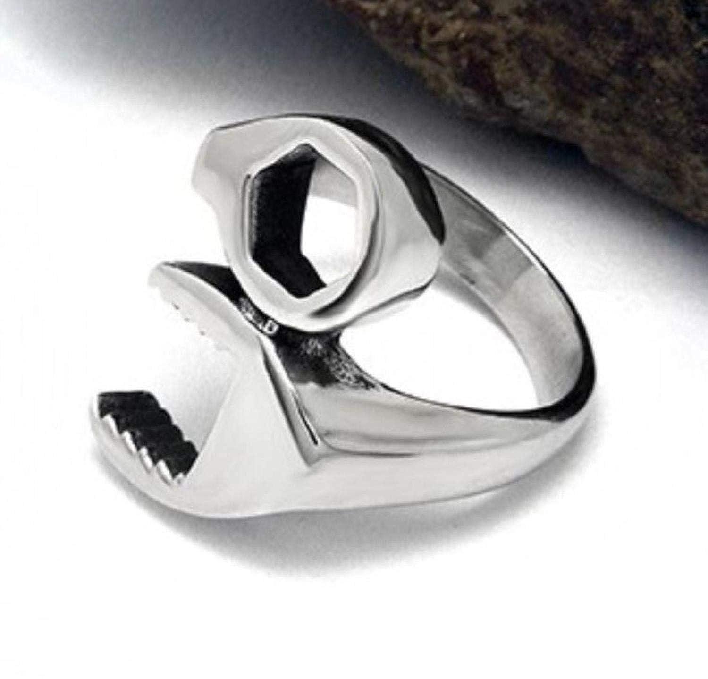 Asa Jewell Herren-Ring Edelstahl silberfarben SA802