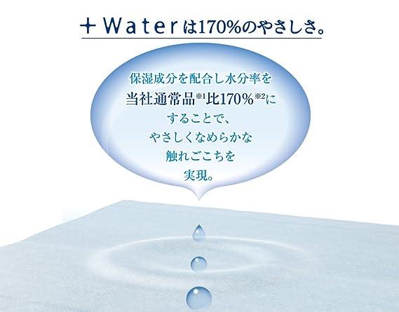 Amazon.com : Daio Paper. Elleair Plus Water 5 Boxes Pack. 180 ...
