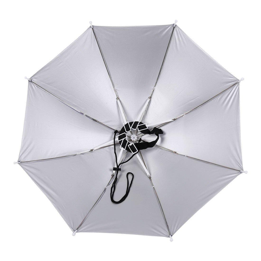 Amazon.com: eDealMax Manos libres Banda elástica paraguas Sombrero Headwear de deportes al aire Libre púrpura: Home & Kitchen