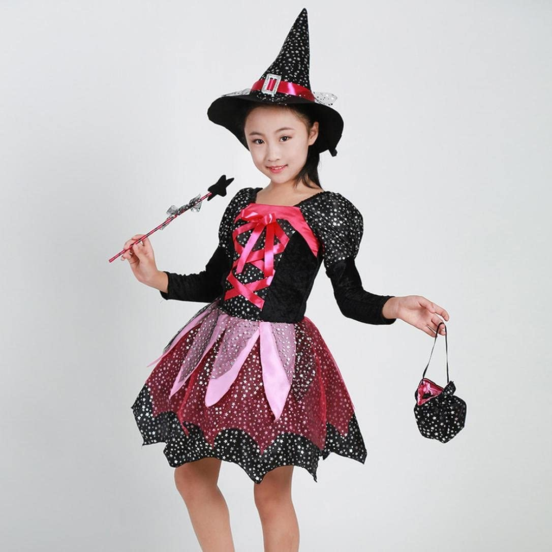 Amazon.com: MIARHB 6PCs Little Girls Halloween Costume Dress Set