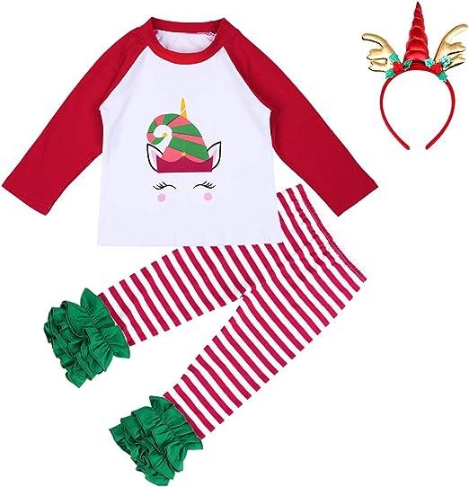 Amazon.com: Disfraz de unicornio de fiesta navideña para ...