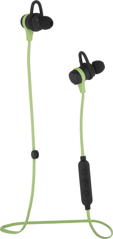 AmazonBasics Wireless Bluetooth Fitness Headphones with Microphone, Green