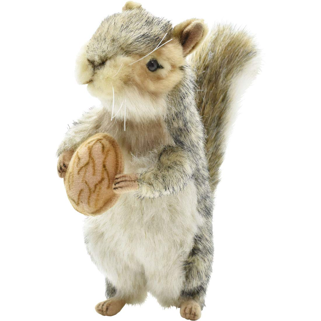 Hansa Squirrel Plush, 8'', Gray by HANSA
