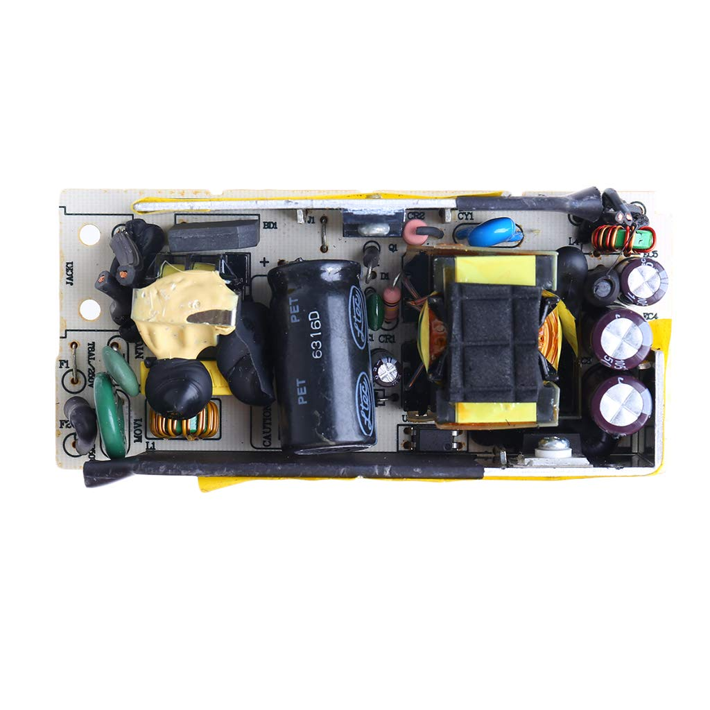 AC-DC 12V 5A Switching Power Supply 5000MA for Replace//Repair LCD