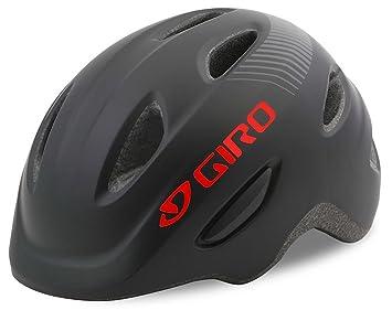 Giro Scamp MIPS - Casco de Bicicleta Niños - Negro Contorno de la Cabeza S /