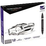 Prismacolor Marker Sets neutral grey set set of 12