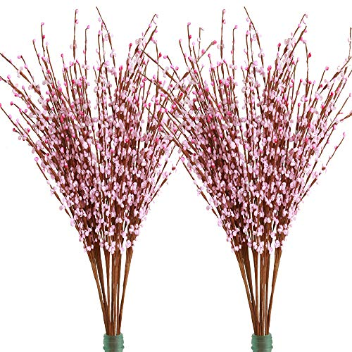 - Furnily 20 pcs Artificial Flowers 29.5