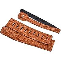 KESOTO Brown Adjustable Hanging Strap Belt Guitar For Stage Performance