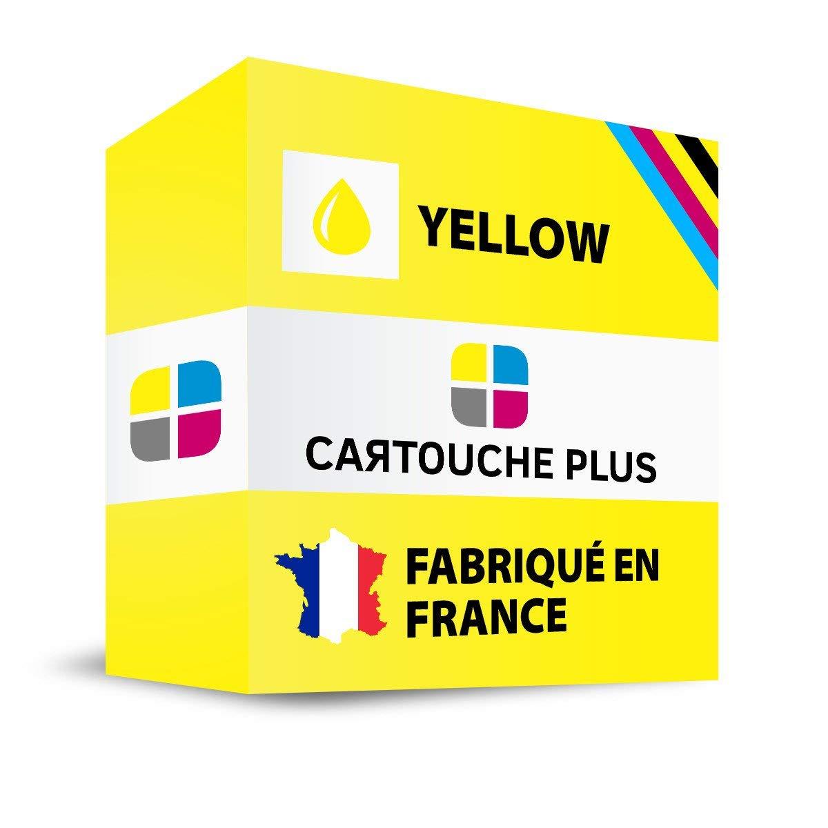 Cartucho Plus – – – Tóner Compatible para HP 953/953 x l/957 x l/f6u18ae Amarillo – Fabricado en Francia 6ac56a
