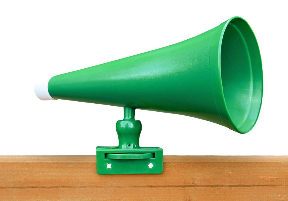 Gorilla Playset Accessories Megaphone in Green