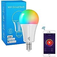 MoKo WiFi LED Bombilla Inteligente Ajustable Blanco Cálida