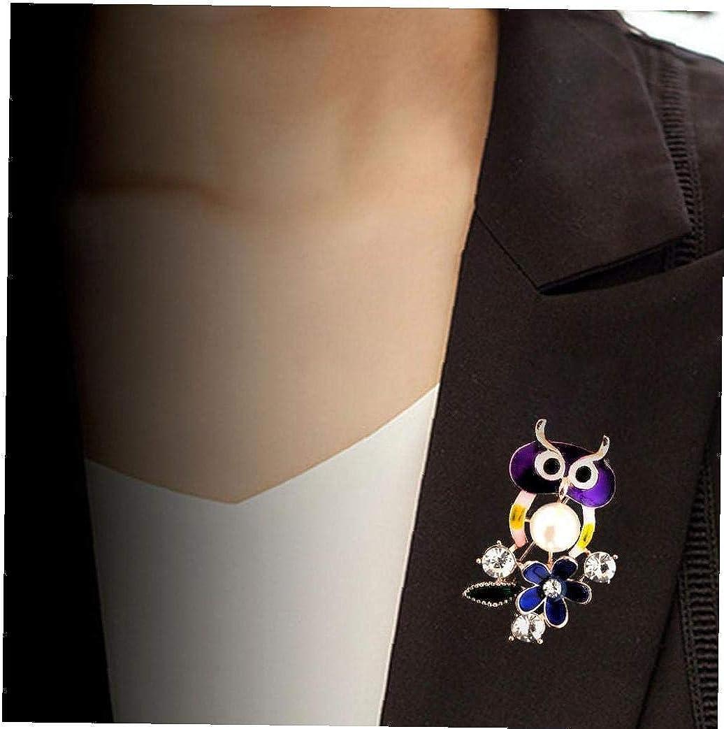 1pc Animaux color/és Broche Pin Strass Poitrine Manteau Broche en Alliage Broche de v/êtements pour Femmes