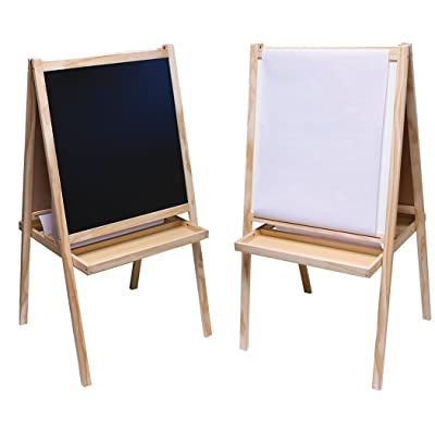 Art Alternatives Young Artist Easel,Brown: Toys & Games