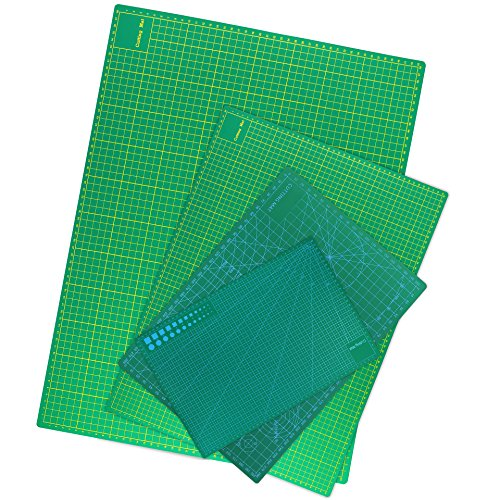 Zerro Double Sided Self Healing Rotary Cutting Mat Full A2