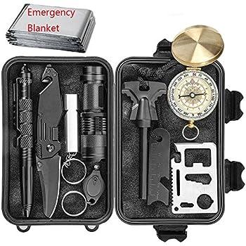 Amazon Com Emergency Survival Kit 10 In 1 Outdoor