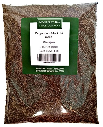 Monterey Bay Peppercorn Black - 16 Mesh - 1 Pound