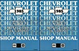 1985 Chevy Car Repair Shop Manual Impala Caprice Malibu Monte Carlo El Camino/GMC Caballero