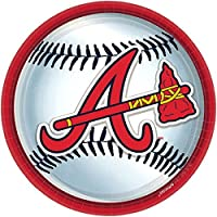 "Atlanta Braves 9"" Plates- 18ct"