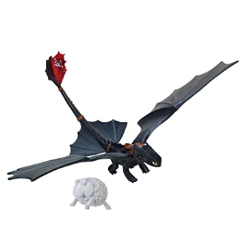 Furycatapult Dreamworks Dragon Of Berk Night Defenders Tail Dragons Toothless Action Figure SzqGUpMV