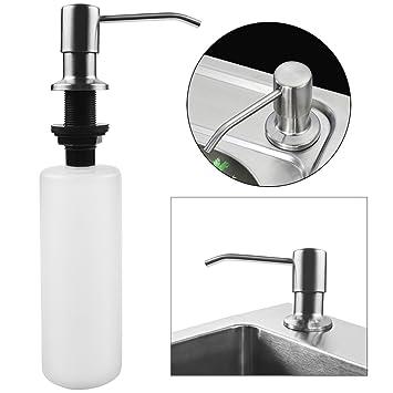 Seifenspender Edelstahl Schaumseifenspender für Dusche Küche Bad ...