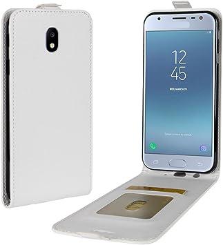 Funda para Samsung Galaxy J7 2017 Faux Cuero Billetera con Stand ...