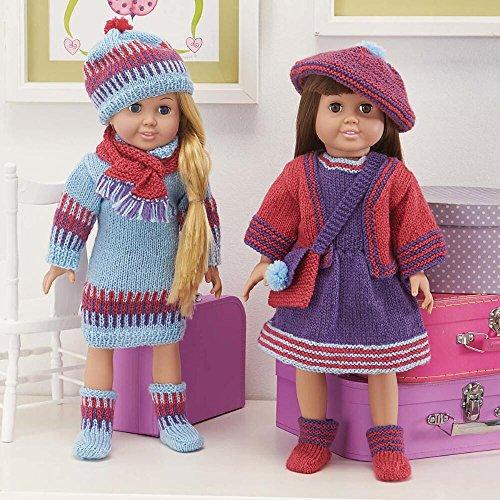 Knit Ensemble - Herrschners® 9-Pc Knit Ensemble for 18 inch Doll Knit Yarn Kit