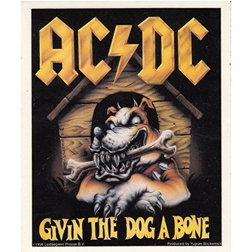 AC/DC Givin the Dog a Bone Sticker (Ac Dc Givin The Dog A Bone)
