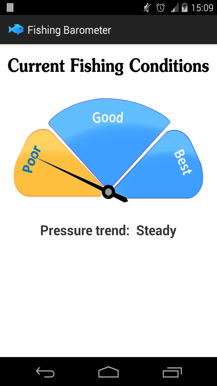 Fishing Barometer Appstore For Android