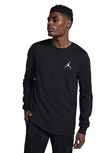 e85e5a5a5462a Amazon.com  Jordan Sportswear Air Long Sleeve Men s T-Shirt  Shoes
