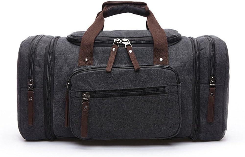 Kipten Large Capacity Traveling Canvas Luggage Bag Suitcase Weekender Duffle Bag