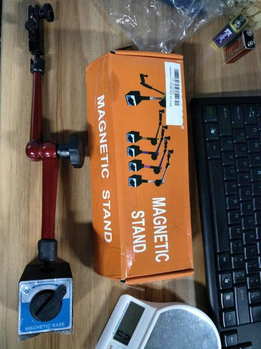 Unibell 350 mm Ajustable Universal Base magn/ética sostenedor del Soporte for la Prueba de Acceso telef/ónico indicador de Nivel