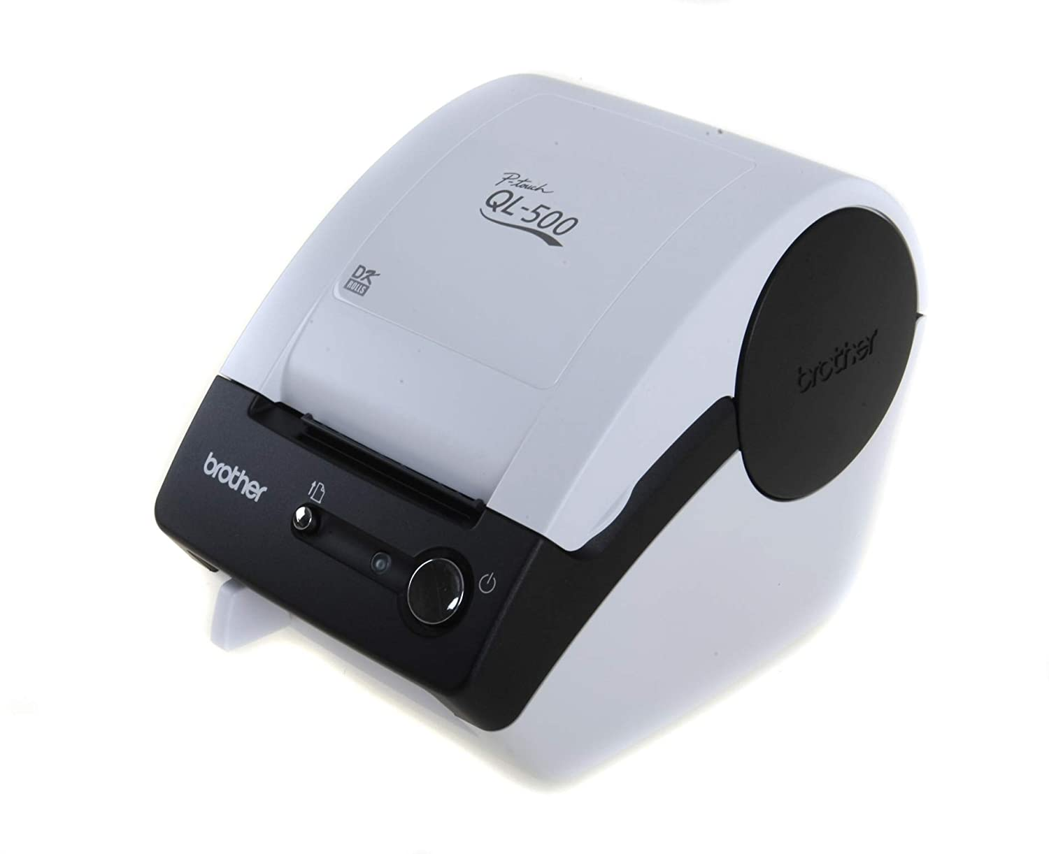 Brother QL-500 Thermal Label Printer - White: Amazon co uk: Office