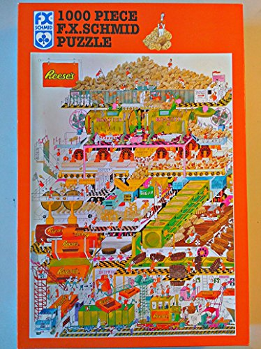 (F.X. Schmid Reese's Peanut Butter Cup Factory 1000 Piece Puzzle)