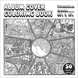Amazon Com Album Cover Coloring Book 9781976763304 Mitch Meseke