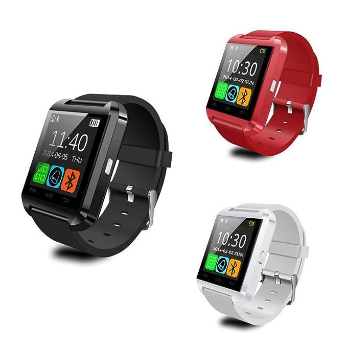 Amazon.com: Smartwatch U8 Bluetooth inteligente reloj de ...