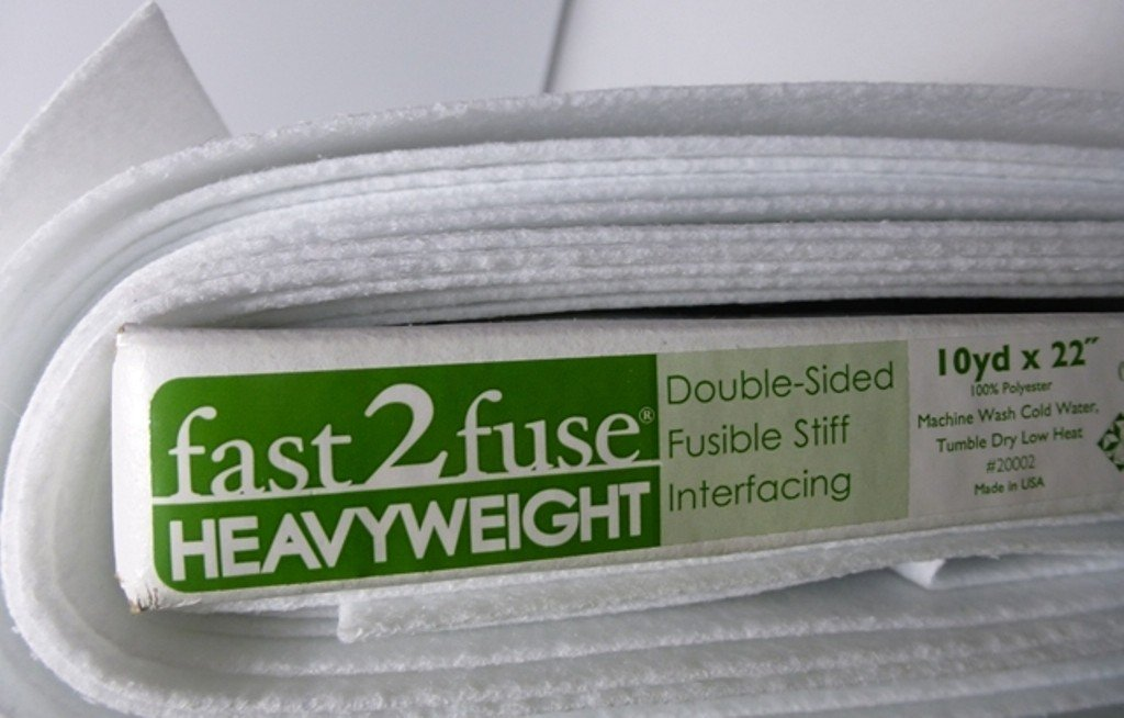 Fast2fuse Heavyweight Interfacing-White 20