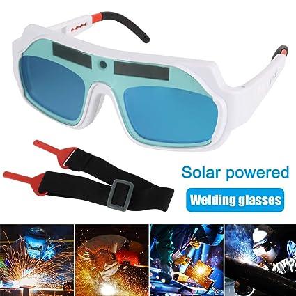 lzndeal las Gafas de Seguridad actionnées solares los Ojos de Soldadura se assombrissant automatiquement protègent el