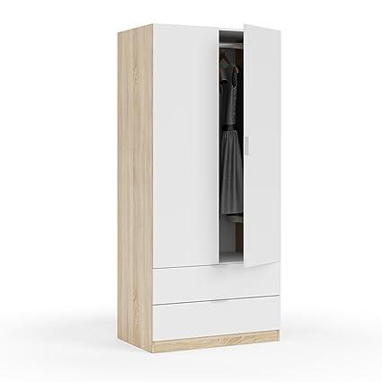 Habitdesign LC1222F - Armario Dos Puertas, Acabado en Color ...