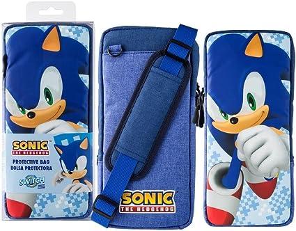 Sonic The Hedgehog Portable Protective Bag Nintendo Switch Amazon Co Uk Pc Video Games